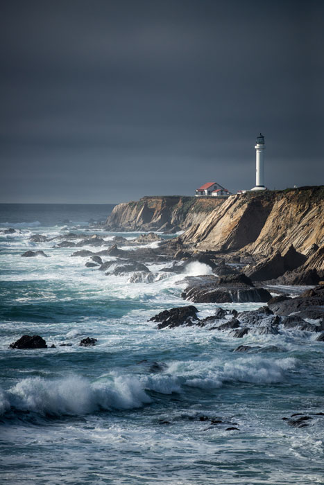 Point Arena Lighthouse by John Litten